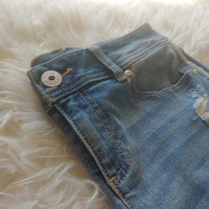 Standout Patched and Distressed Jeans Size 4
